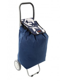 Lorenz 2 Wheel Shopping Trolley with Back Pocket & Zip - New Lower Price !
