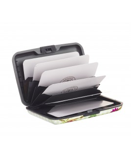 """Picture""Aluminium RFID-Proof Concertina Credit Card Case"