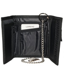 Lorenz  Nylon Sports Wallet Rippa Fastening with Chain