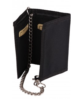Lorenz Trifold Rippa Wallet with Chain