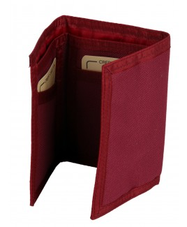 Lorenz Trifold Canvas Wallet