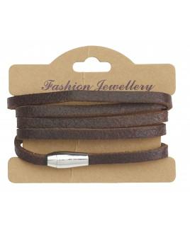 Full Leather Wrap Bracelet