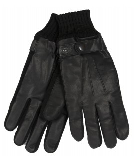 Gents Goat Nappa Glove with Knitted Cuff- HUGE PRICE DROP !