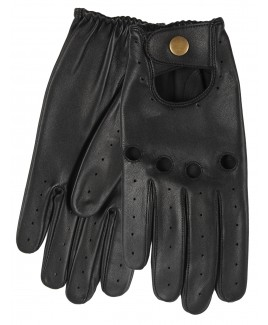 Gents Sheep Nappa Driving Gloves with Button- NEW LOW PRICE!