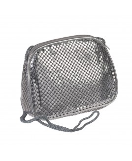 Small Mesh Evening Bag with Top Zip - FURTHER REDUCTIONS!!