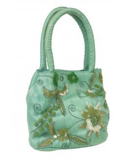 Vintage Style Slim Tissue Bag with Twin Handles & Strap - FURTHER REDUCTIONS!!