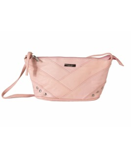 Lorenz Accessories Pink Sheep Nappa Top Zip Handbag - - FURTHER REDUCTIONS!!