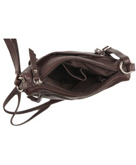 London Leathergoods Smooth Cow Nappa X-Body Bag