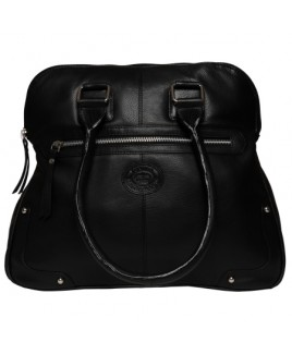 London Leathergoods Large Smooth Cow Nappa Tote