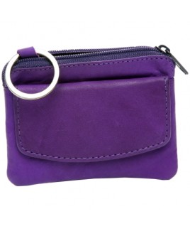Cow Calf Small Purse with Zip & Front Flap