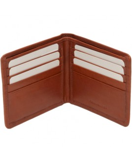 London Leathergoods Cow Nappa RFID Proof Notecase- Price Drop !