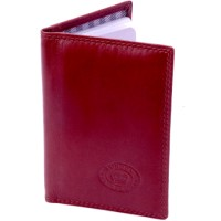 London Leathergoods Cow Nappa Credit Card Case. Non-RFID - 30% Discount!!