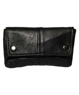 Sheep Nappa Tobacco Pouch with Paper Pocket