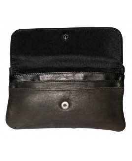 Lorenz Accessories Slim Sheep Nappa Purse