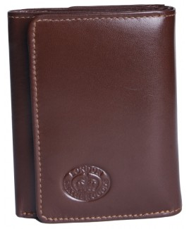 London Leathergoods Trifold Purse with Flap Pocket-WHILE STOCKS LAST!!