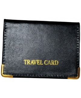 Sheep Nappa Smooth Leather Travel Card Holder