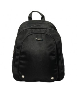 Lorenz Micro Fibre Multi Zip Backpack