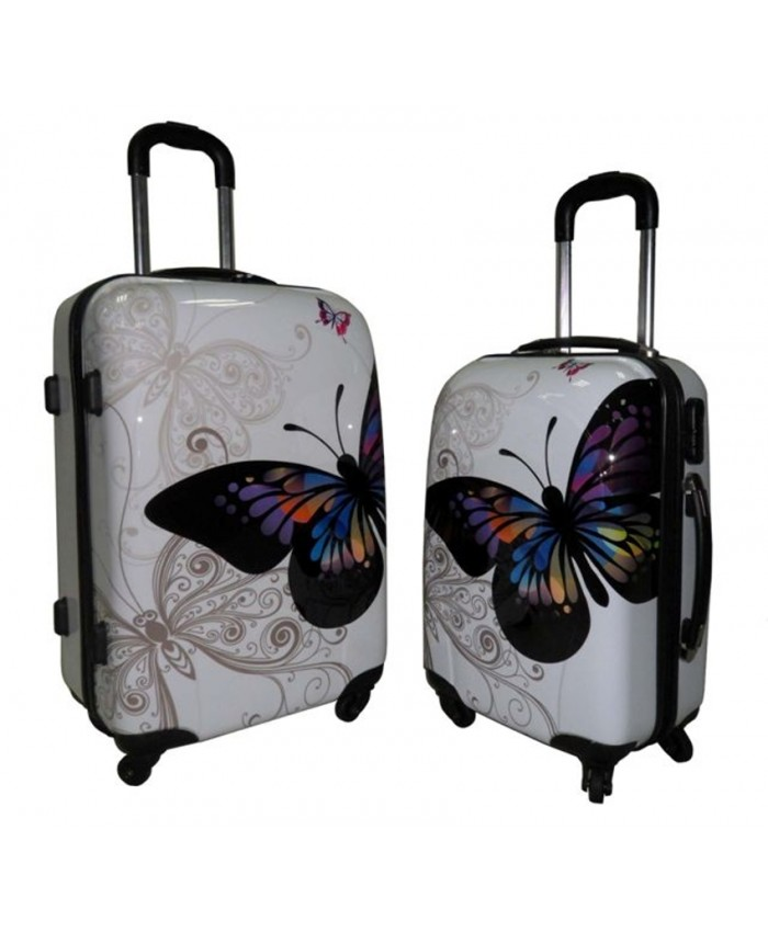 Lorenz Printed ABS Luggage Set | Stafford Wholesale