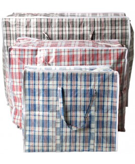 Check Laundry/Shopping Bag - Large
