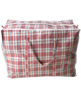 Check Laundry/Shopping Bag - Medium
