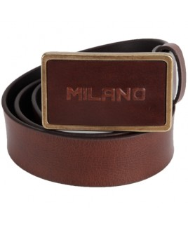 1.5 inch Full Leather Belt in Quality Distressed Leather