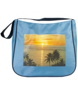 Top Zip Micro Fibre Beach Bag with Back Zip - CLEARANCE PRICE !!!