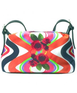 Deluxe Polyester Multi-colour Top Zip Bag - FURTHER REDUCTIONS!!
