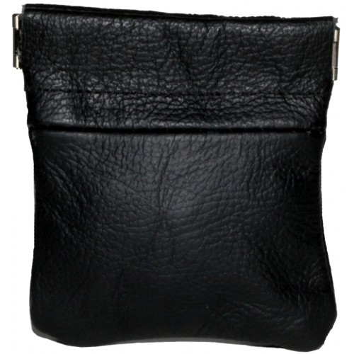 Cow Hide Snap Top Coin Purse