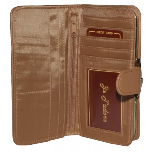Je T'adore Patchwork 16cm Purse Wallet