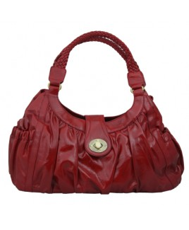 Sofia's Ruffle Effect PVC Shoulder Bag - Special Offer