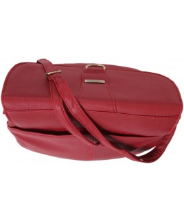 **Lorenz Leather Grain PU Triple Section Bag- FURTHER REDUCTIONS !!