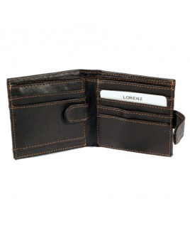 Lorenz Leather Grained PU Wallet with Swing Section- BARGAIN PRICE!!!