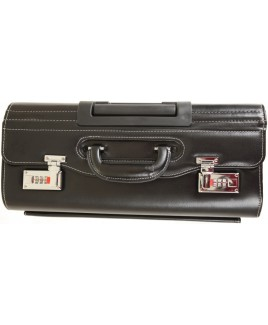 Deluxe PVC Pilot Case with Front Flap Pocket