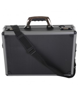 Black Aluminium Skinned Executive/Laptop Case- Lower Price!