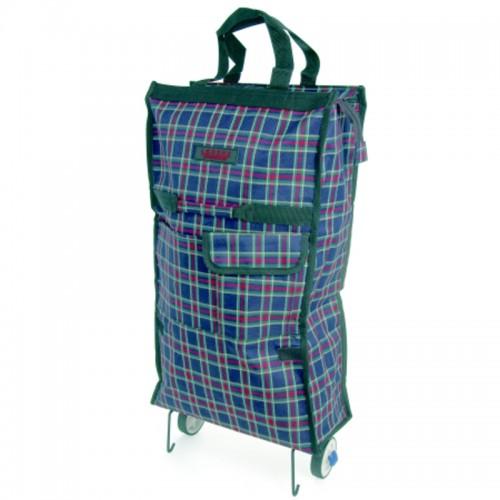 *** Trolley Cart Shopper with Top Zip