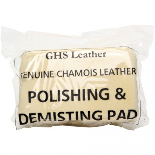 Genuine Chamois Leather Demisting Pad
