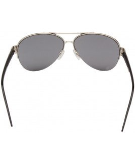 Aviator Style with a Slim Silver Metal Frame - SALE PRICE!