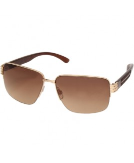 Classic Style Sunglasses with Smoky Lenses