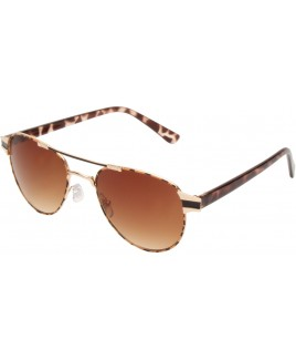Aviator Style Sunglasses with Animal Print Frames - SALE PRCE !