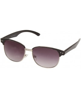 Clubmaster Sunglasses with Black/Silver Finish Frames - SALE PRCE !