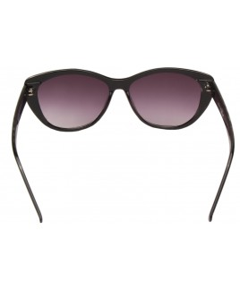 Cat Eye Sunglasses with Brown Frame