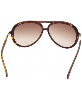 Aviator Style Sunglasses with Gold Metal Temples - SALE PRCE !